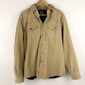 Patagonia corduroy tan workwear jacket coat